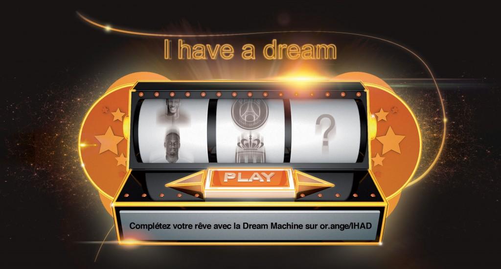 i have a dream Orange