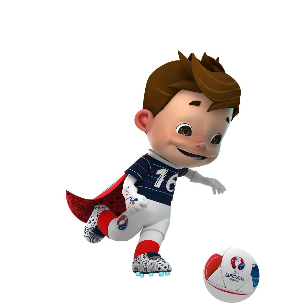 UEFA EURO 2016_Mascot_action_shot01